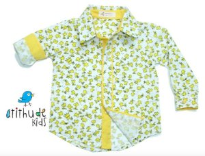 Camisa Woodstock - Branca com amarelo | Snoopy