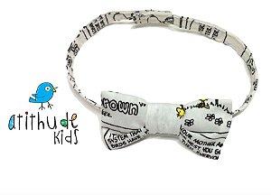 Gravata Borboleta - Snoopy