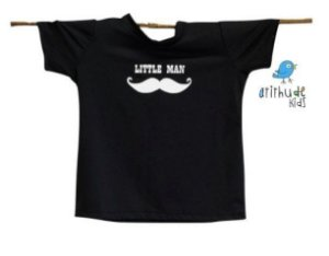 "Camiseta - Little Man (""Pequeno homem"")"