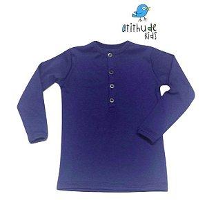 Camiseta Fabrício - Azul Ribana
