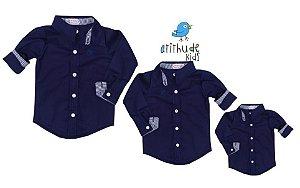 Kit camisa Nicolas - Família (três peças)