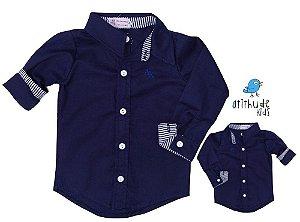 Kit camisa Nicolas - Tal pai, tal filho (duas peças)
