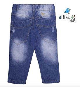 Calça Breno - Jeans rasgadinho