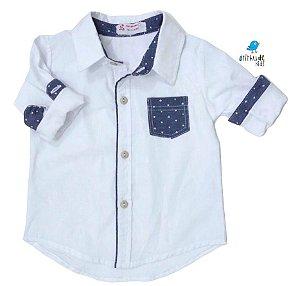 Camisa Guillermo - Branca com Estampa