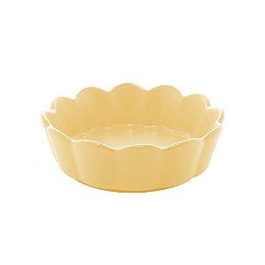 Bowl Porcelana Nórdico Amarelo Matt 16 cm - Bon Gourmet