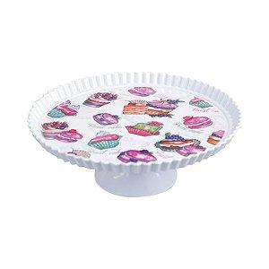 Prato de Bolo - Cupcake