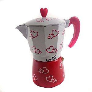 Cafeteira Italiana Heart