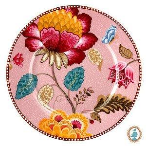 Prato de Pão - Rosa Floral Fantasy PiP Studio