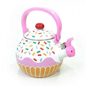 Chaleira Esmaltada Cupcake