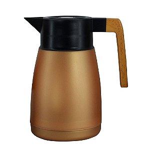 Garrafa Térmica Coffeeshop Cobre Metálico