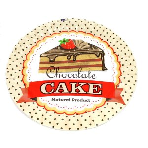 Prato de Bolo - Cupcake Chocolate