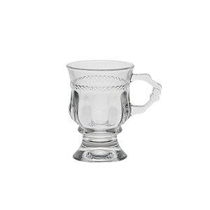 Taça Para Capuccino Com Alça e Pé - Lyor