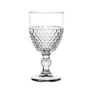 Taça Para Água de Cristal de Chumbo Coração - Unidade