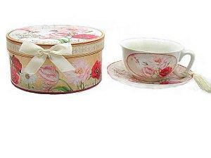 Xícara de Chá Rosa - Paris