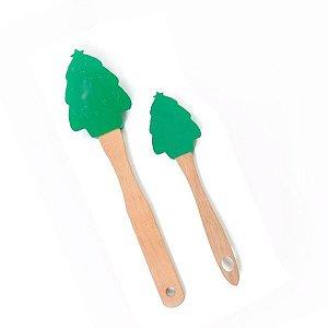 Kit 2 Espátulas Árvore de Natal
