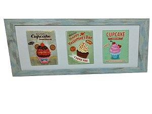 Quadro de Parede - Cupcake
