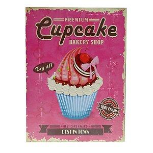 Quadrinho Premium Cupcake