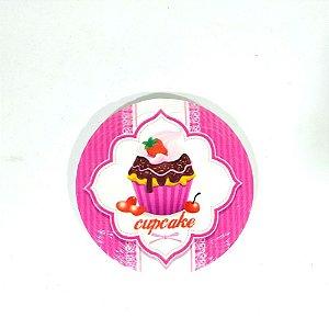 Imã de Geladeira Cupcake Pink