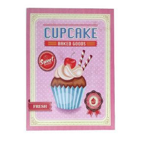 Quadrinho Cupcake - Baked Goods