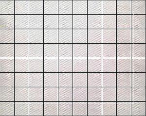 Lugar Americano Grid Branco