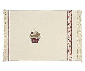 Tapete Rústico Cupcake