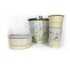 Kit para Pia - Teaparty Creme