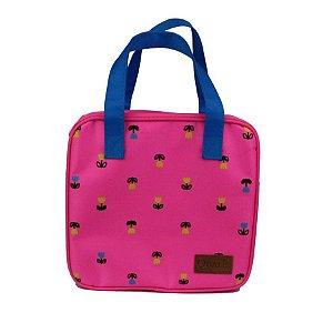 Bolsa Térmica Floral Pink Pequena