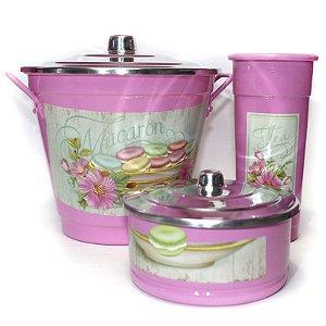 Kit para Pia - Macaron Rosa