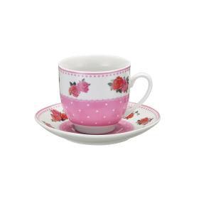 Jogo de Xícara para Chá - Flores