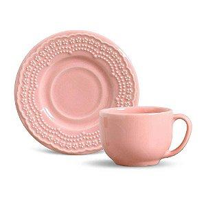 Xícara de Chá Madeleine Rosa Porto Brasil