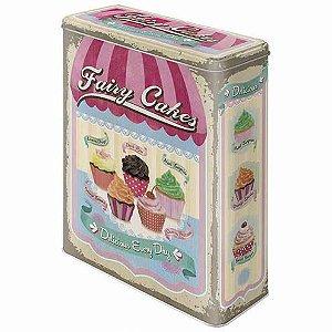 Lata Multiuso Home Cupcakes 4L