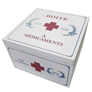 Caixa Madeira Medicamentos
