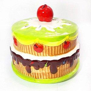 Cofre Cupcake Cereja