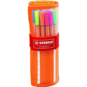 Estojo Stabilo Original 30 Cores Point 0,4 - Stabilo