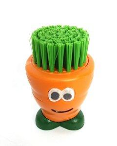 Escova de Vegetais Cenoura
