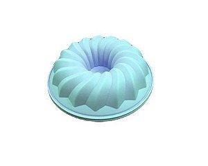 Forma De bolo 26 cm azul