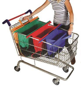 Conjunto 4 sacolas para Compras