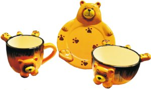 Kit para Lanche - Urso