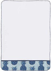 Pano de Copa - Abacaxi Azul
