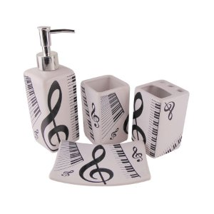 Kit para Banheiro - Música
