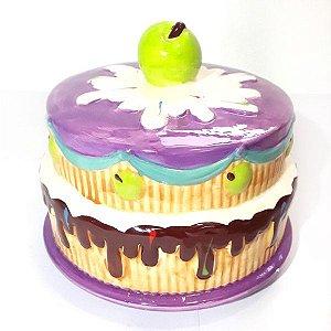 Cofre Cupcake Roxo