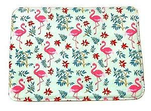 Tapete Flamingo Floresta