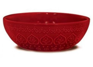 Bowl Relieve Vermelho - Yoi