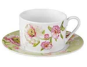 Jogo de Xícaras de Chá - Gardenia