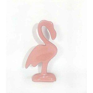 Flamingo em Cerâmica Decorativo