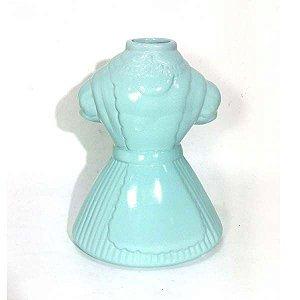 Vestido Vaso em Cerâmica Decorativo
