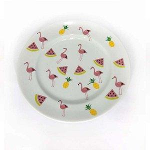 Prato de Sobremesa - Flamingo