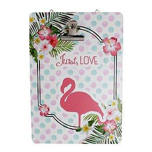 Prancheta em MDF Flamingo