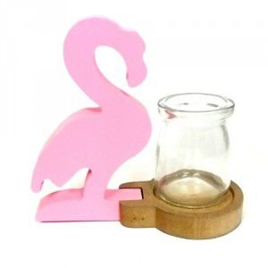 Vaso Base Flamingo