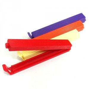 Clips Para Embalagem Coloridos